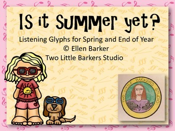 Is It Summer Yet? Listening Glyphs