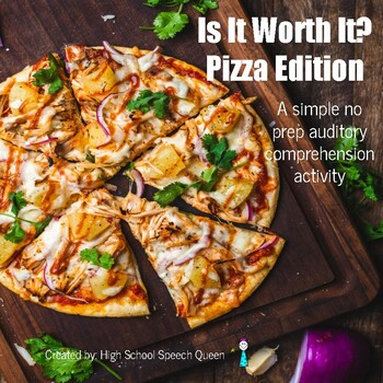 Is It Worth It? Pizza Edition