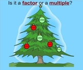 Is It a Factor or a Multiple?