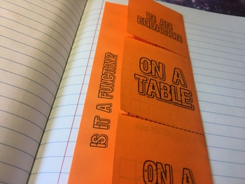 Is It a Function - Foldable Notes
