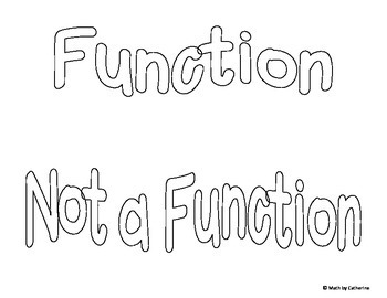 Is It a Function Sorting Game