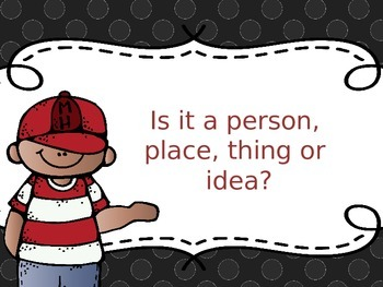 Is It a Person, Place, Thing or Idea? Power Point