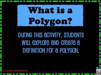 Is It a Polygon? Flipchart