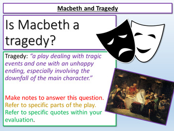 Is Macbeth a Tragedy?