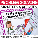 Social Story Problem Solving Print Digital Video