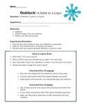 Is Oobleck a Solid or Liquid? A science experiment for 2nd-6th graders