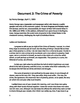 Is Poverty a crime?