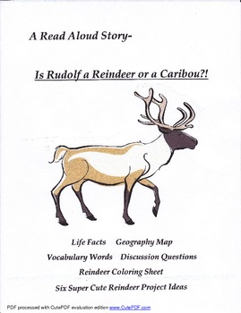 Is Rudolf a Reindeer or a Caribou?!