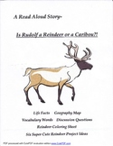 Is Rudolf a Reindeer or a Caribou?!