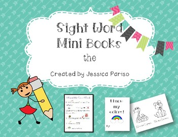 The Sight Word Mini Book