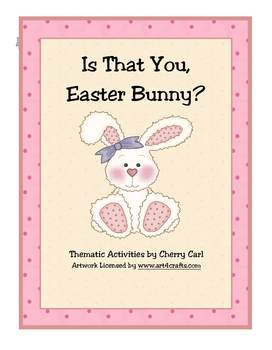 Is That You, Easter Bunny?  Activity Packet