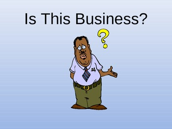 Is This Business?