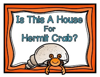 Is This a House for Hermit Crab Book Study Pack
