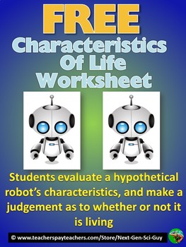 Is Vivian the Robot Living? Worksheet