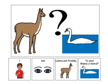 Is Your Mama a Llama - Adapted Book