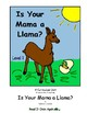 Is Your Mama a Llama Level 1 Digital Version