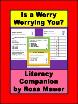 Is a Worry Worrying You? Book Companion