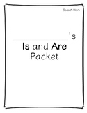 Is and Are Grammar Packet