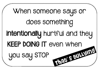 Is it Bullying? You Can Do It