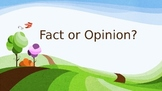 Is it Fact or Opinion?