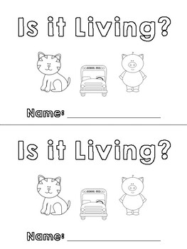 Is it Living? A Living and Nonliving Early Reader