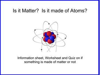 Is it Matter?