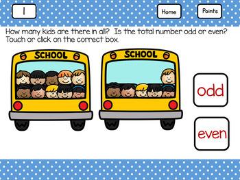 Is it Odd or Even?  School Bus Kids