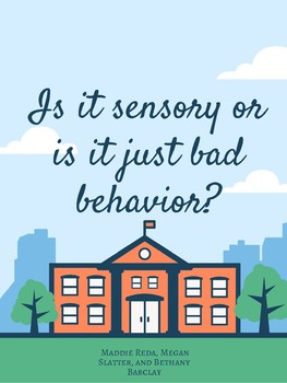Is it Sensory or it is Bad Behavior?