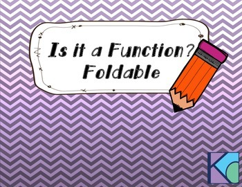 Is it a Function?  Foldable