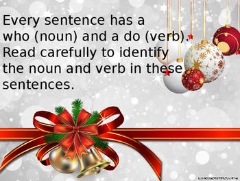 Is it a Noun or a Verb?