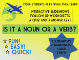 Is it a Noun or a Verb? Interactive Group Game with follow
