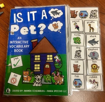 Is it a Pet?:  An Interactive & Adaptive Book
