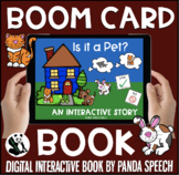 Is it a Pet?  Boom Book (Boom Card Activity)  Interactive Book