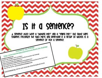 Is it a Sentence?