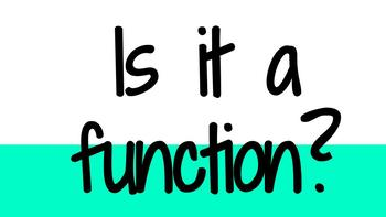 Is it a function?
