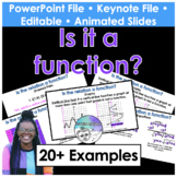 Is it a function? (vertical line test) Presentation