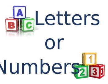 Is it a letter or a number?