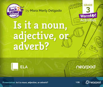 Is it a noun, adjective, or adverb?