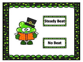 Is it a steady beat? St. Patrick's Day Shamrocks
