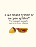 Is it an Open Syllable or a Closed Syllable? Phonology Game