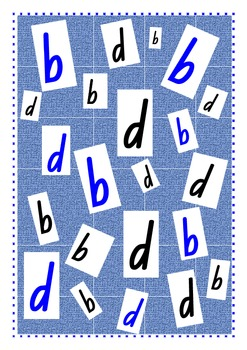 Is it b or d? - Discrimination Game with letters b and d