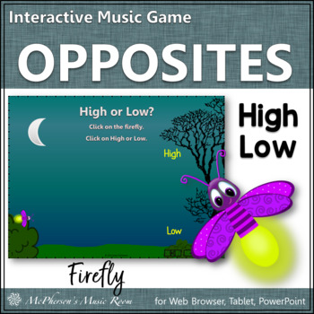 High Low Music Opposite Interactive Music Game {firefly}