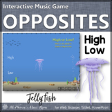 Melodic Direction High Low? Interactive Music Game {jellyfish}