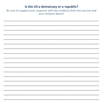 Is the US a Democracy or a Republic?