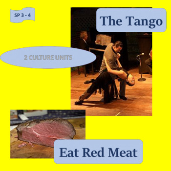 The tango / Eat red meat; 2 thematic units - SP Intermediate 2