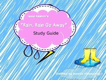 "Isaac Asimov's ""Rain, Rain Go Away"" Study Guide with Key"