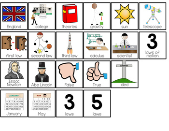 Isaac Newton Adapted Books { Level 1 and Level 2 } All About Isaac Newton