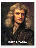 """""""Isaac Newton"""" + Power Point + Activities + Assessment (Distance Learning)"""