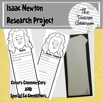 Isaac Newton Bookmark Report