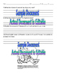 Isaac Newton PowerPoint and Student Focus/Companion Sheet